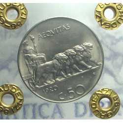 Vitt. Eman. III - 50 Cent Leo. 1920 L