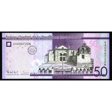 Repubblica Dominicana - 50 Pesos 2014