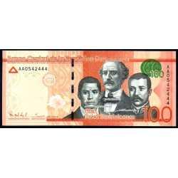 Repubblica Dominicana - 100 Pesos 2014