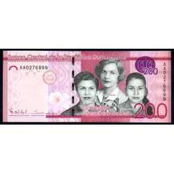 Repubblica Dominicana - 200 Pesos 2014