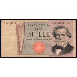 1000 Lire Verdi II° 1969 C. Ocra