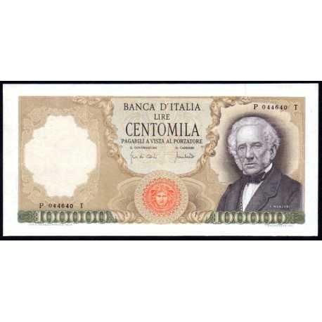 100.000 Lire Manzoni 1970