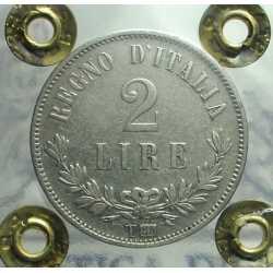 Vitt. Eman. II - 2 Lire 1863 T