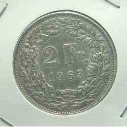 Switzerland - 2 Francs 1963