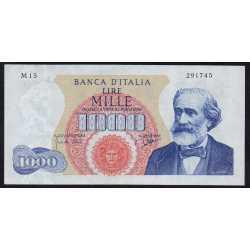 1000 Lire 1962 Verdi I° Tipo