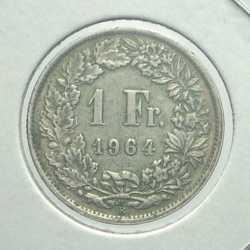 Switzerland - 1 Franc 1964