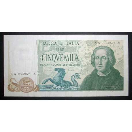 5000 Lire 1977 Colombo