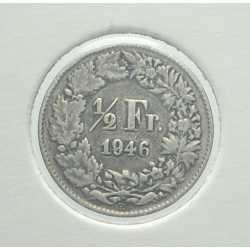 Switzerland - 1/2 Franc 1946