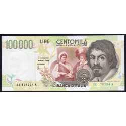 100.000 Lire Caravaggio II 1998