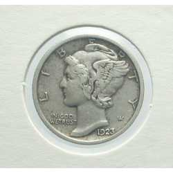 USA - Mercury Dime 1923