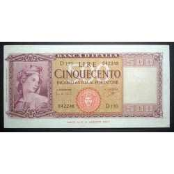 500 Lire Italia 1961