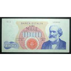 1000 Lire 1962 Verdi I°