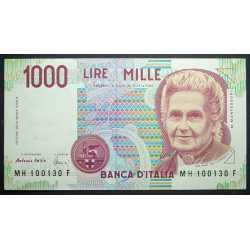 1000 Lire 1998 Montessori