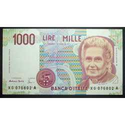 1000 Lire 1999 Montessori XG