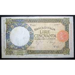 50 Lire Lupa 1942