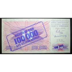 Bosnia - 100000 Dinara