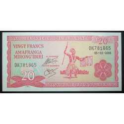 Burundi - 20 Francs