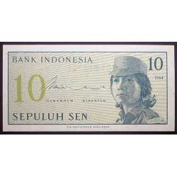 Indonesia - 10 Sen 1964