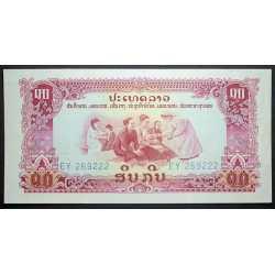 Laos - 10 Kip 1976