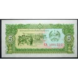Laos - 5 Kip 1979