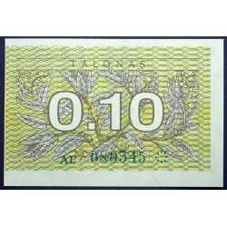 Lithuania - 0,10 Talonas 1991