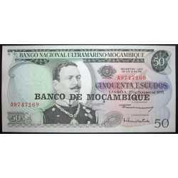 Mozambique - 50 Escudos 1976