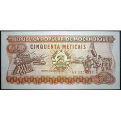 Mozambique - 50 Meticais 1986