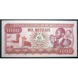 Mozambique - 1000 Meticais 1989