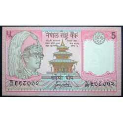 Nepal - 5 Rupees 1987