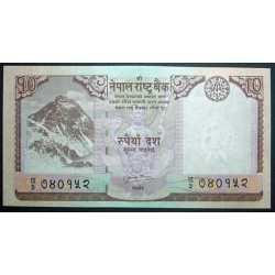 Nepal - 10 Rupees 2008