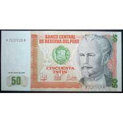 Perù - 50 Intis 1987