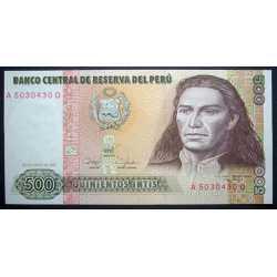Perù - 500 Intis 1987