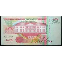 Suriname - 10 Gulden 1996