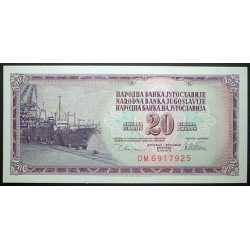 Yugoslavia - 20 Dinara 1978