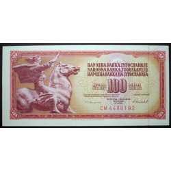 Yugoslavia - 100 Dinara 1981
