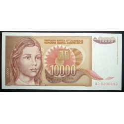 Yugoslavia - 10.000 Dinara 1992