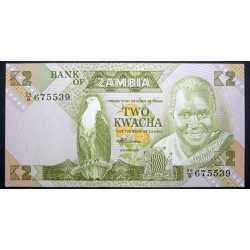Zambia - 2 Kwacha 1988
