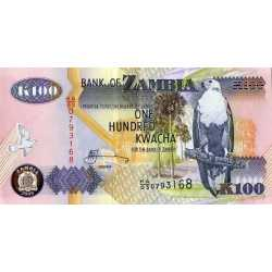 Zambia - 100 Kwacha 2009