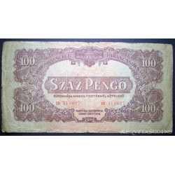 Hungary - 100 Pengo 1944