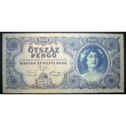 Hungary - 500 Pengo 1945