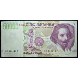 50.000 Lire Bernini II 1995
