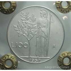 100 Lire 1957