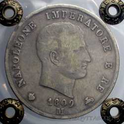 Napoleone I  - 5 Lire 1809 M