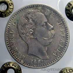 Umberto I - 2 Lire 1881 R