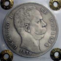 Umberto I - 5 Lire 1879 R