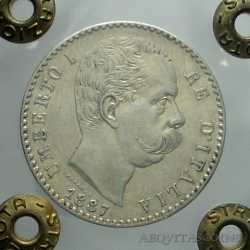 Umberto I - 2 Lire 1887 R