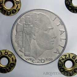 Vitt. Eman. III - 20 Cent 1939 Ant