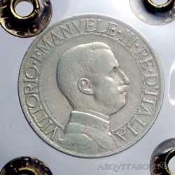 Vitt. Eman. III - 1 Lira  1908