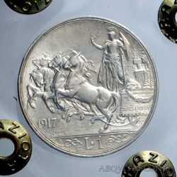 Vitt. Eman. III - 1 Lira  1917