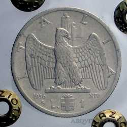Vitt. Eman. III - 1 Lira  1936
